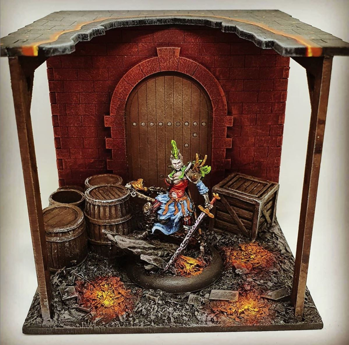 asset drop villains, zealot miniatures