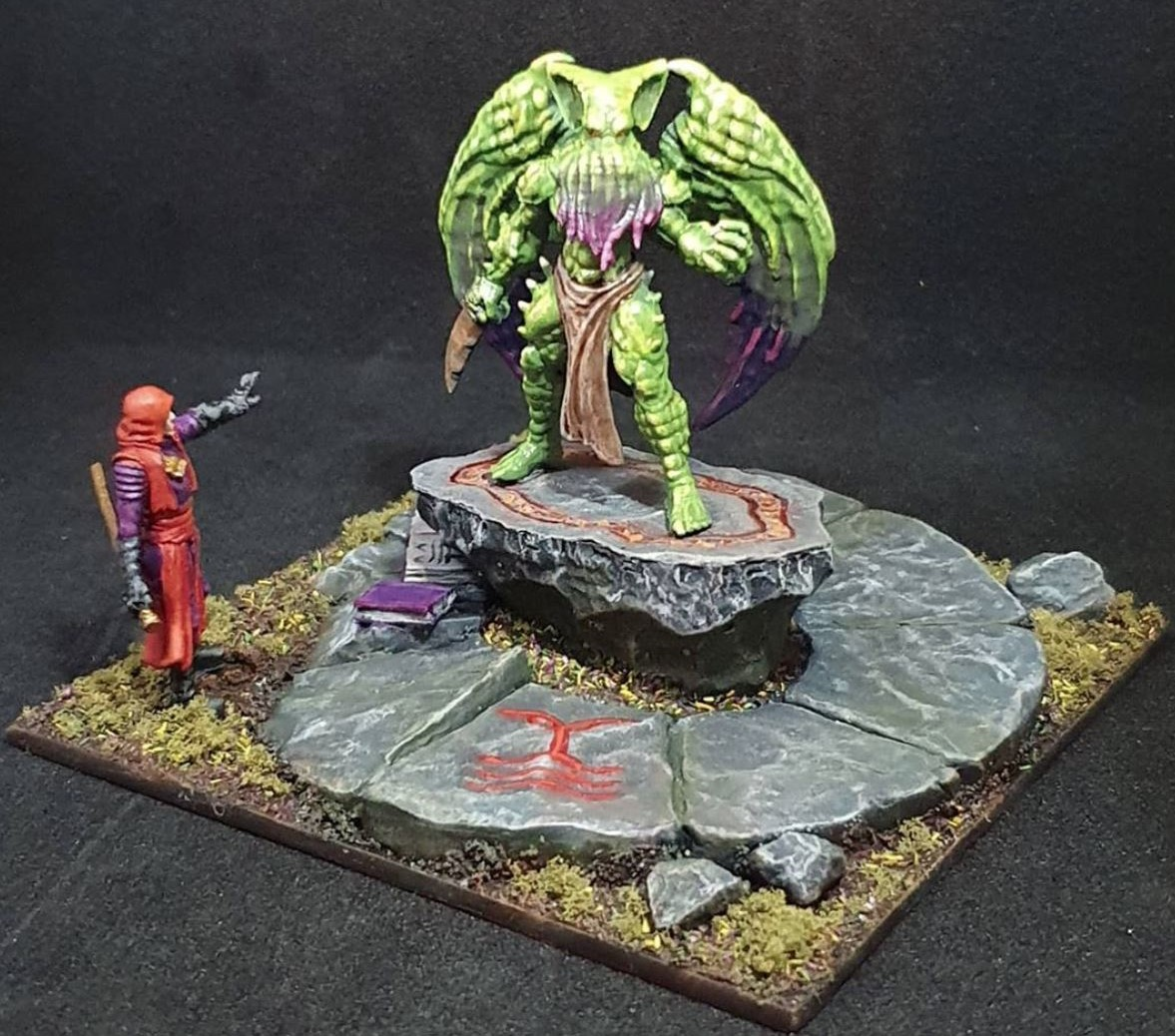 asset drop villains, bushido miniatures