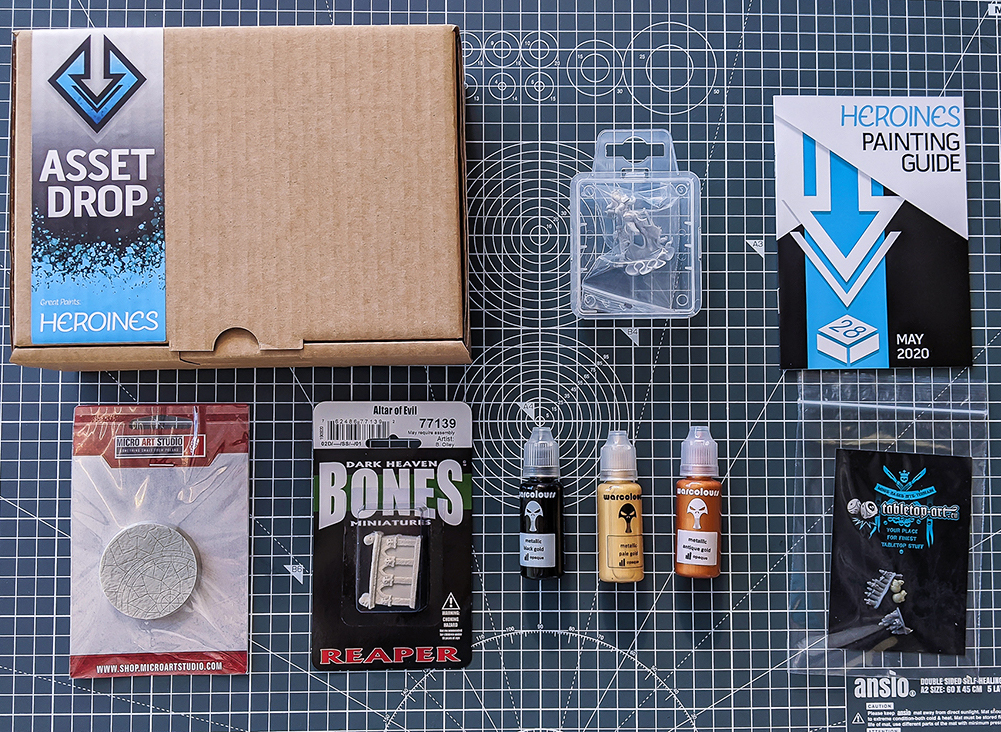 may asset drop heroines box