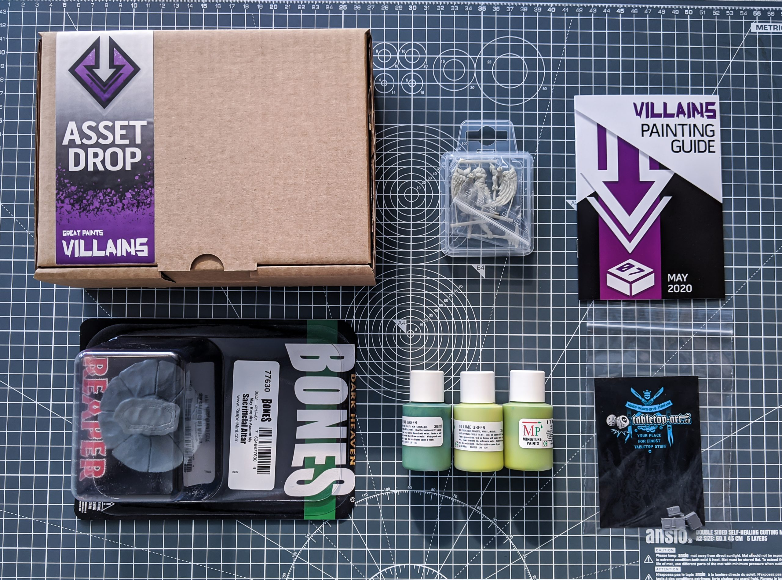 Asset Drop monthly subscription villains mayy unboxing
