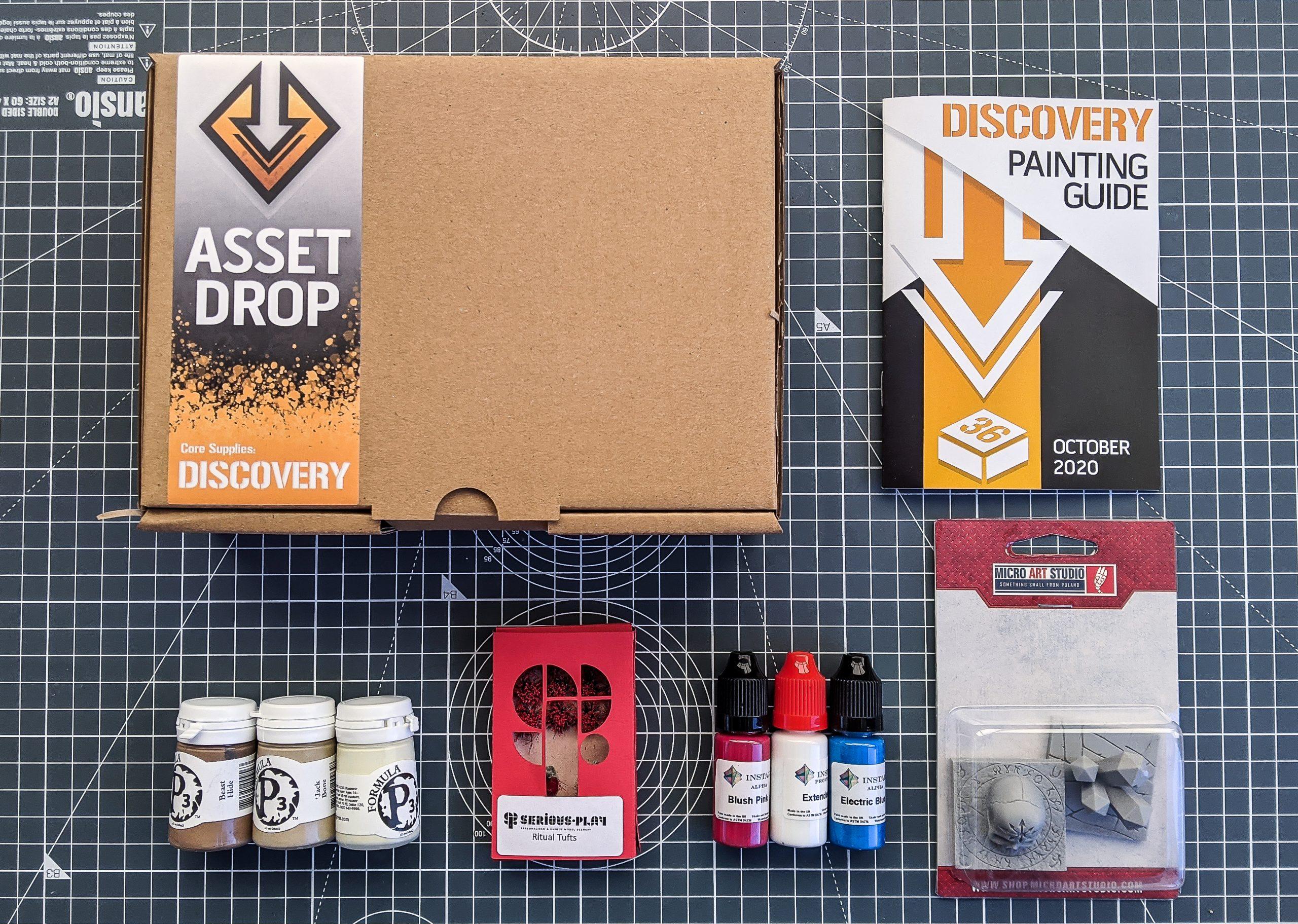 Asset Drop discovery box oct