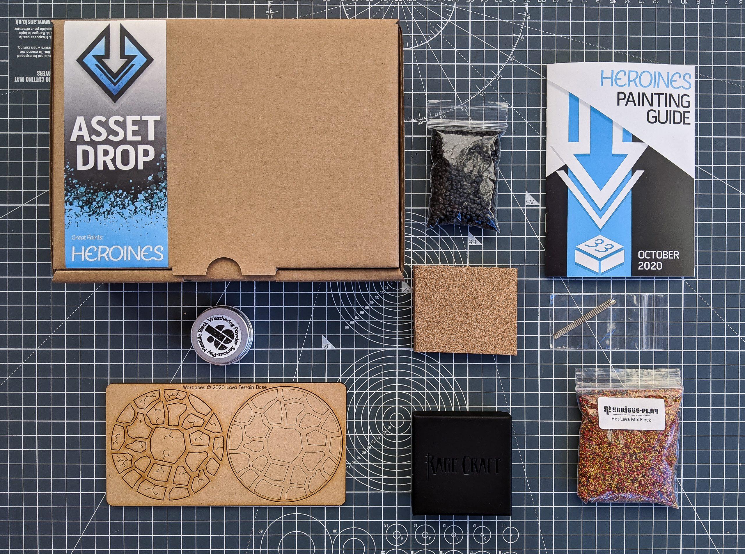 Asset Drop heroines box oct