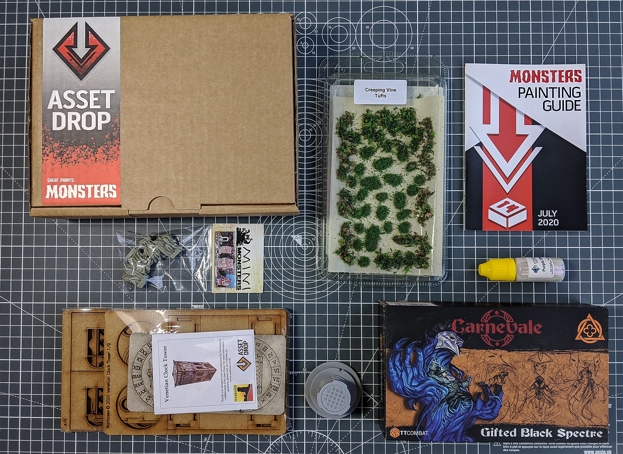 Asset Drop july monsters box