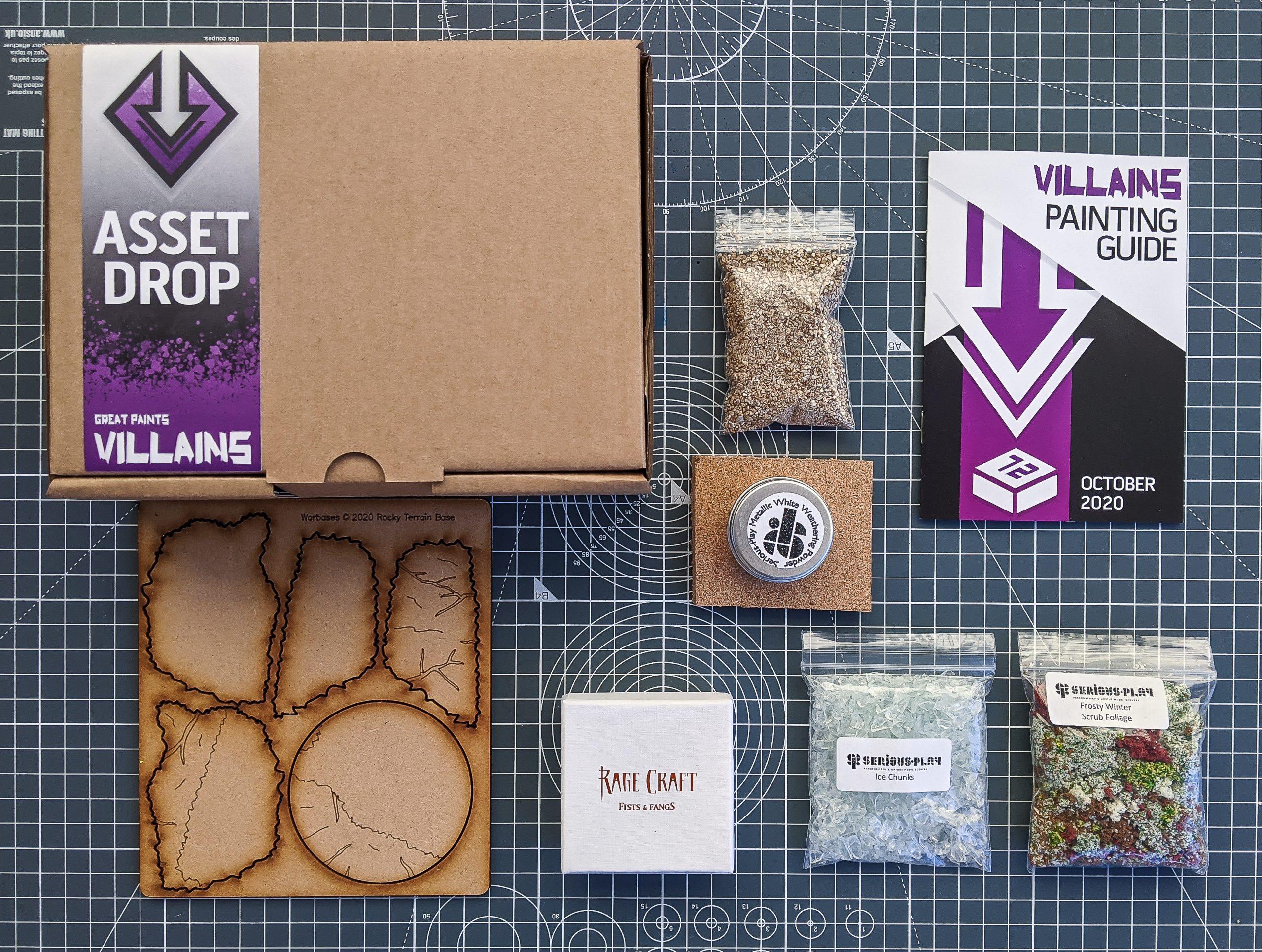 Asset Drop villains box oct